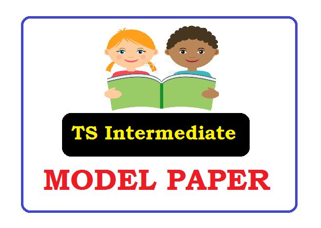 Telangana Inter 1st & 2nd year Model Paper 2020